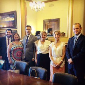 IABA Senator Warner Staff Photo